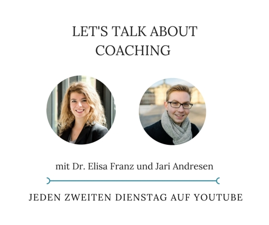 Let's talk about Coaching - Ankündigung